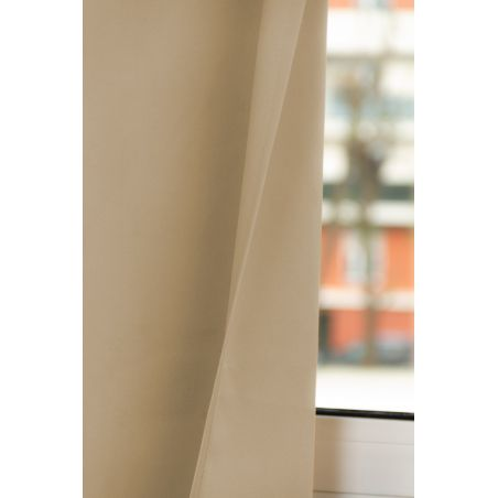 Rideau Occultant Total Sur Mesure Revolution Beige Sirocco MC651